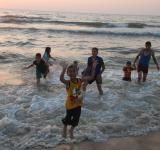 Free Photo - Children playing on the beach