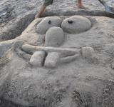 Free Photo - Sponge Bob out of the sand