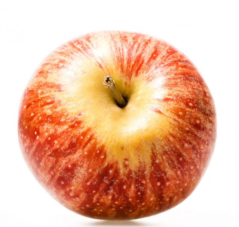 Free Stock Photo of apple on white Created by 2happy