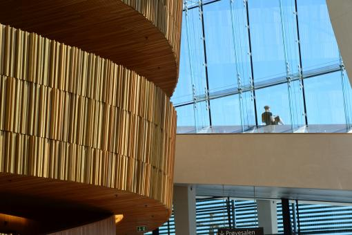 Interior of the Oslo Opera House - Free Stock Photo
