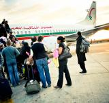 Free Photo - Passenger boarding plane