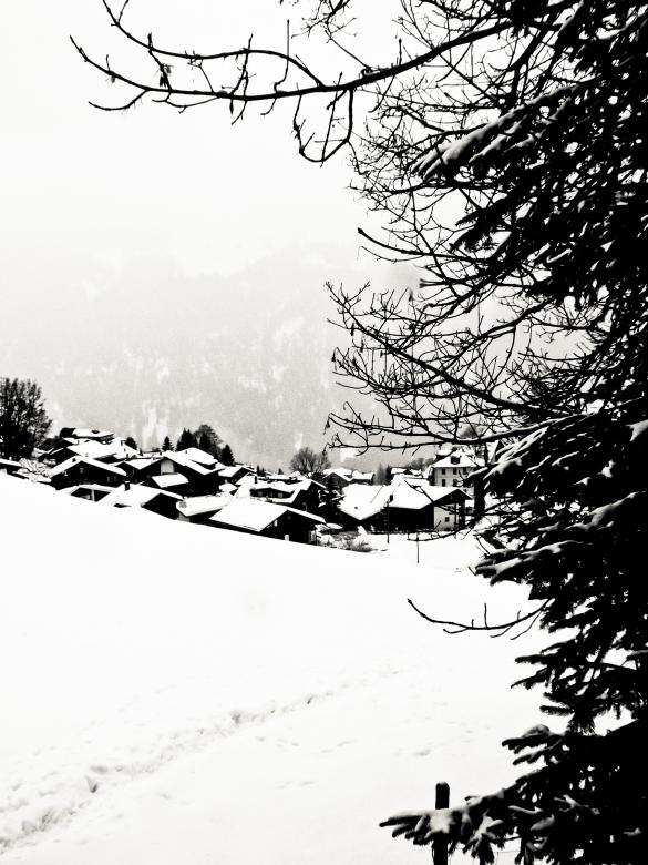 Free Stock Photo of Winter landscape Created by Merelize