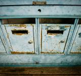 Free Photo - Blue mailboxes