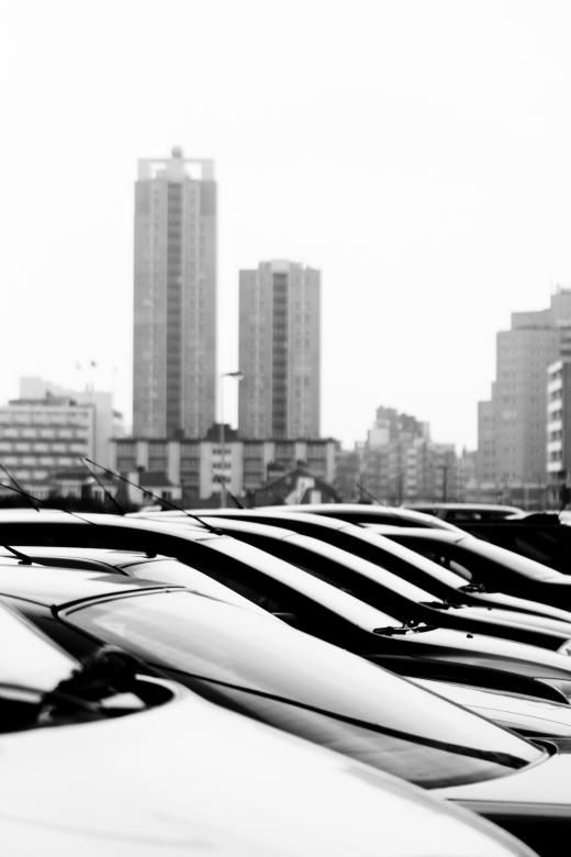 Free Stock Photo of Parked cars in city Created by Merelize