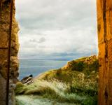 Free Photo - Landscape beyond arch