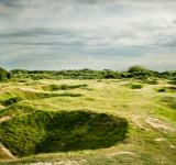 Free Photo - D'day bomb craters