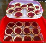 Free Photo - Jam Tarts in container