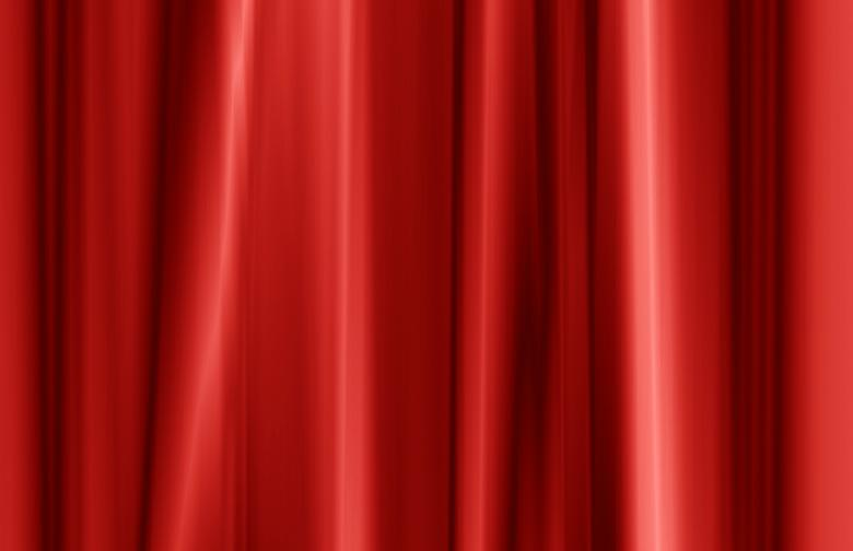 Red curtain fabric texture - Free Red Stock Photos