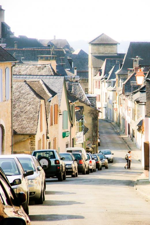Free Stock Photo of French street Created by Merelize