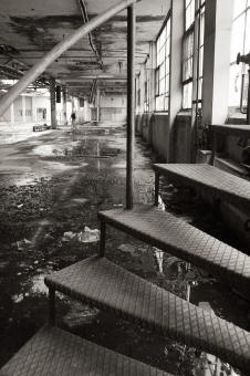 Abandoned factory - Free Stock Photo