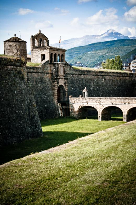 Free Stock Photo of Spanish Castle Created by Merelize