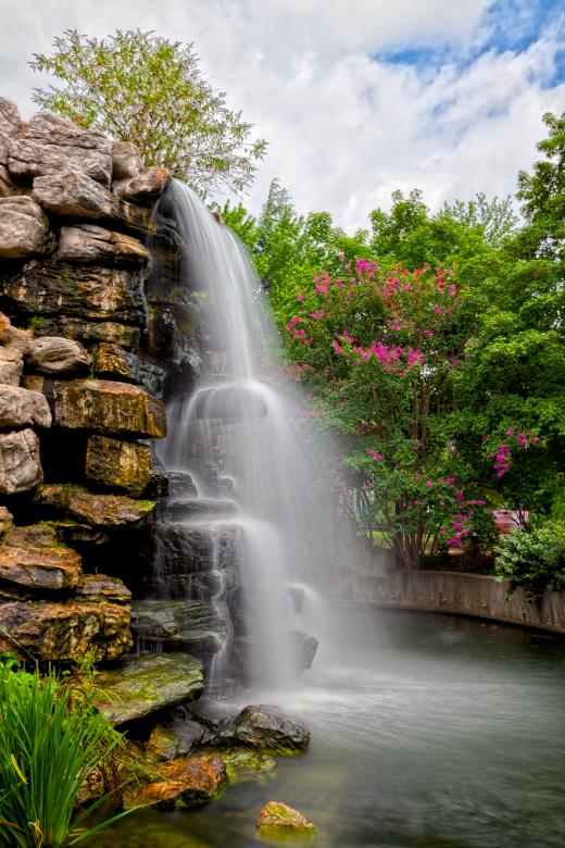 Zoo Waterfall - HDR Free Photo
