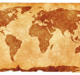 Free Photo - World Grunge Map