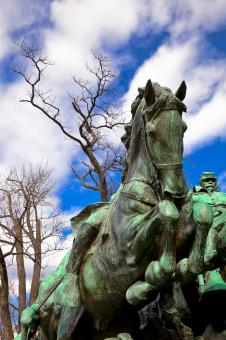Grant Cavalry Memorial - Free Stock Photo