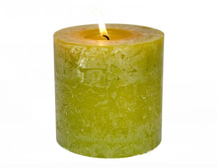 Green candle - Free Stock Photo