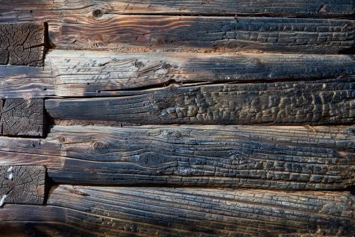 Burnt wood texture - Free Stock Photo