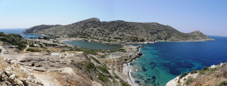 Free Stock Photo of Remains of the ancient port of Knidos