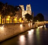 Free Photo - Paris sur Seine Twilight