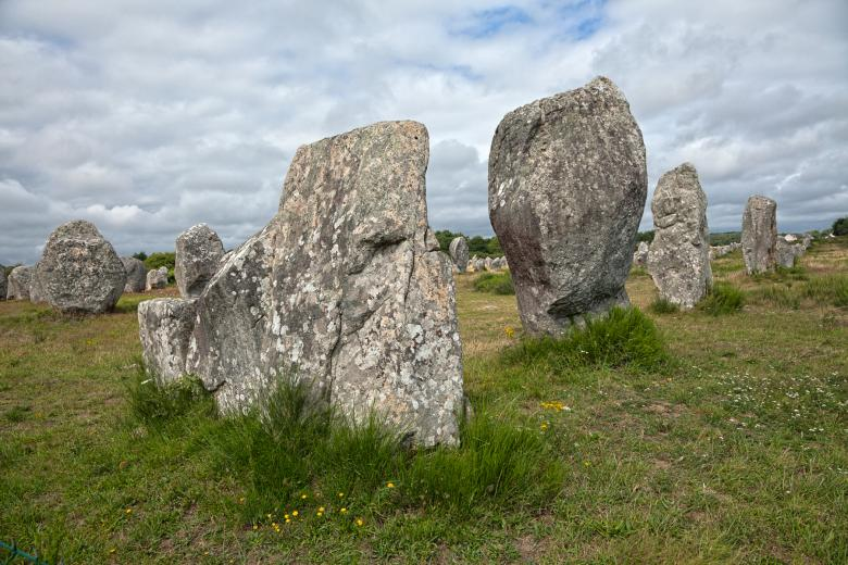 Carnac Stones - HDR Free Photo