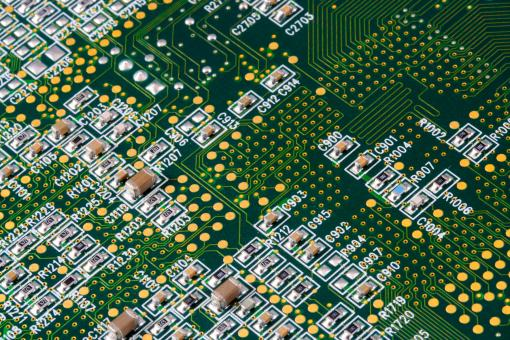 Circuit Board Close-up - Free Stock Photo