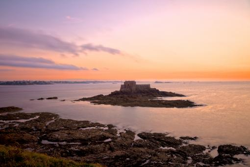 Saint-Malo Twilight - HDR - Free Stock Photo