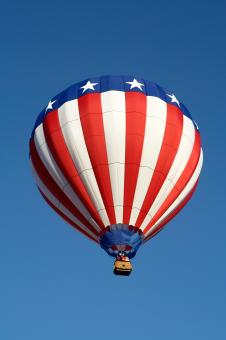 American Hot Air Balloon - Free Stock Photo