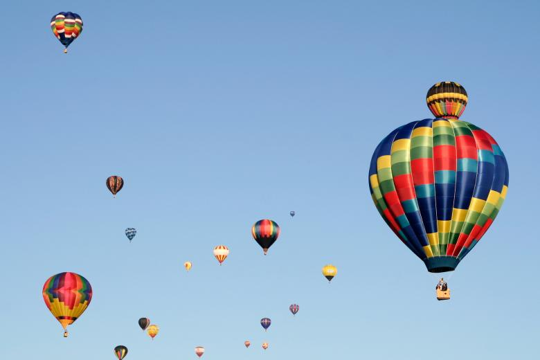 Hot Air Balloons - Free Colorful Stock Photos