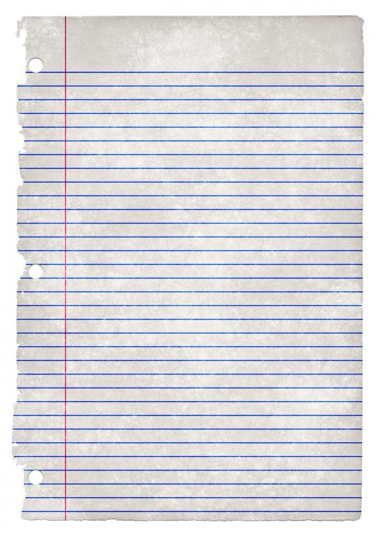 Free Stock Photo of College-Ruled Grunge Paper Created by Nicolas Raymond