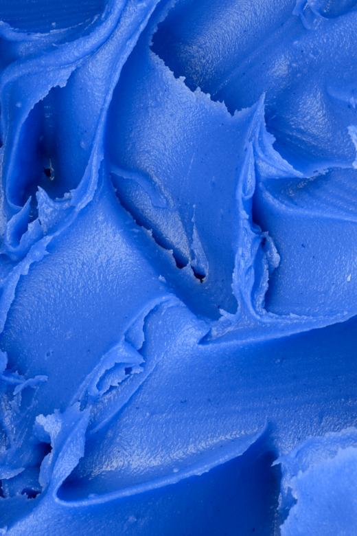 Free Stock Photo of Blue Icing Texture Created by Nicolas Raymond