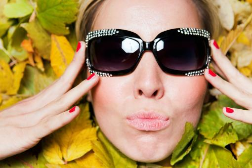 Girl with sunglasses - Free Stock Photo