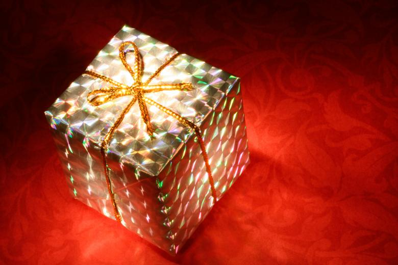 Glowing Gift Box - Free Stock Photo By Nicolas Raymond