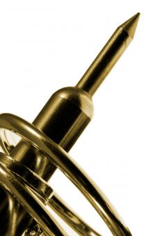Golden Soldering Iron Tip - Free Stock Photo