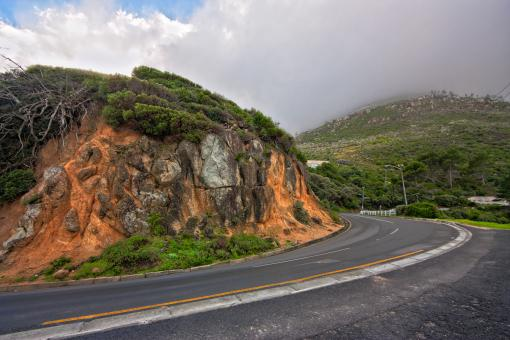 Road Bump - HDR - Free Stock Photo