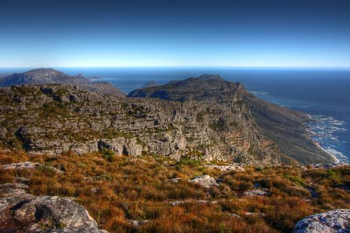 Table Mountain Scenery - HDR - Free Stock Photo