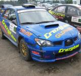 Free Photo - Subaru Rally car color blue