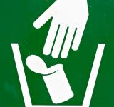 Free Photo - Garbage Disposal Sign