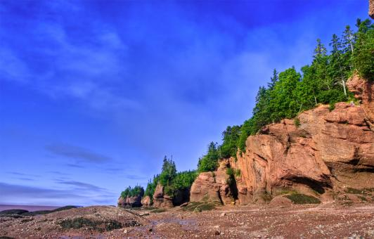 Flowerpot Rocks - HDR - Free Stock Photo