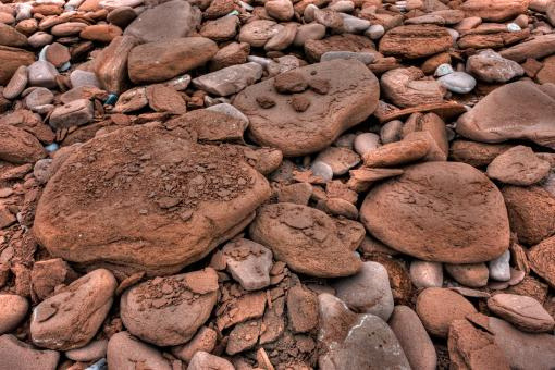 Rocky Texture - HDR - Free Stock Photo