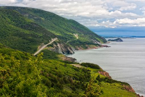 Cabot Trail Scenery - HDR - Free Stock Photo