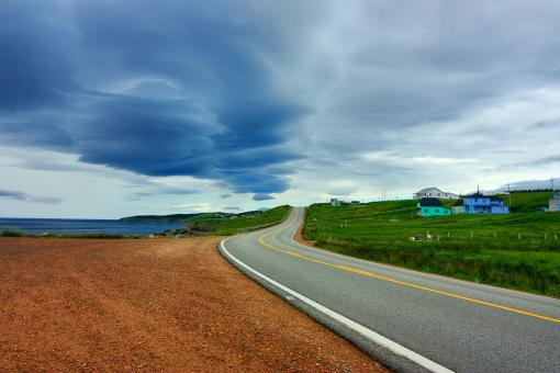 Cabot Trail - HDR - Free Stock Photo