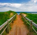 Free Photo - PEI Beach Boardwalk