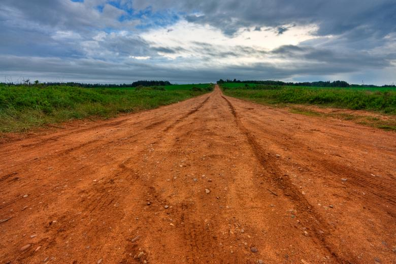 Free Stock Photo of PEI Country Road - HDR Created by Nicolas Raymond