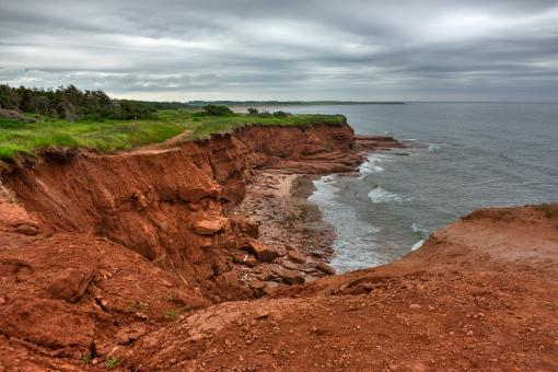 PEI Coastal Scenery - HDR - Free Stock Photo