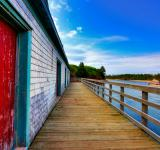 Free Photo - PEI Beach Boardwalk - HDR