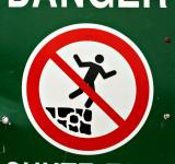 Free Photo - Fall Danger Sign