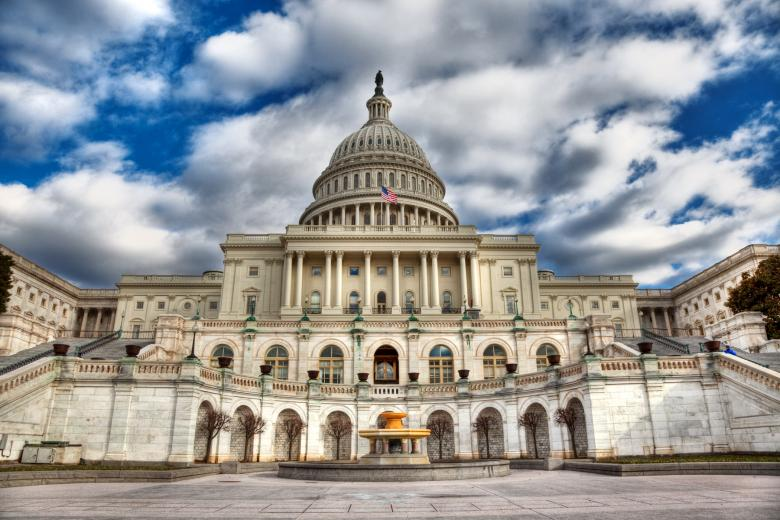 Free Stock Photo of Washington DC Capitol - HDR Created by Nicolas Raymond