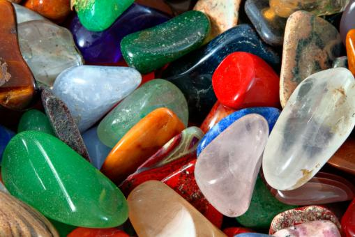 Colorful Stones Texture - HDR - Free Stock Photo