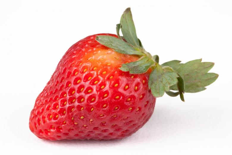 Free Stock Photo of Strawberry Close-up Created by Nicolas Raymond