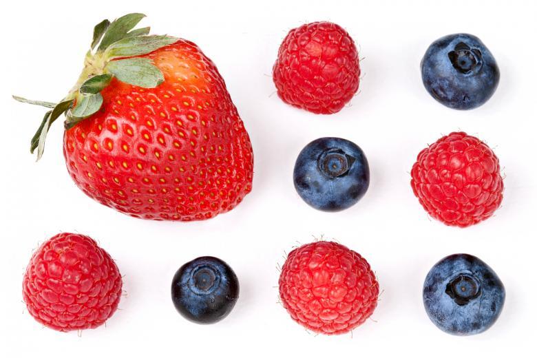 Berry Mix - Free Fruit Stock Photos