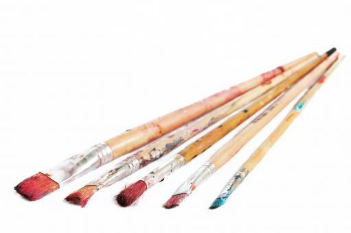 paint brushes - Free Stock Photo
